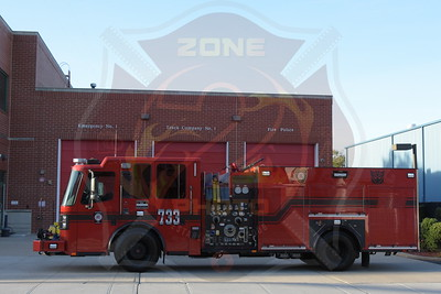 Roosevelt F.D.  New Engine 733          2016 Ferrara