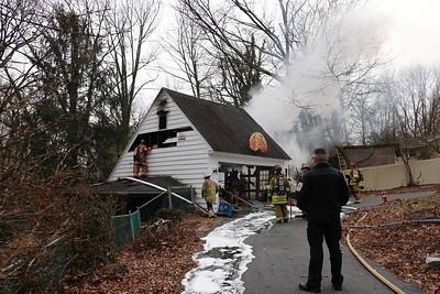 Structure Fire - Oak Park Road - February 10, 2019