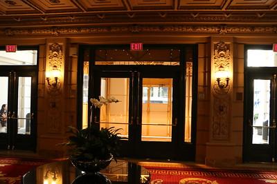 Willard Hotel, F Street Entrance-2016