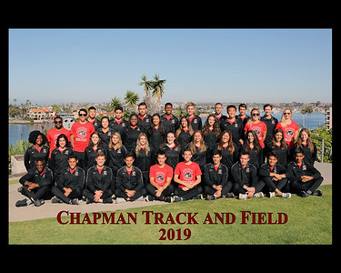 TRACK AND FIELD TEAM PHOTOS - 2019