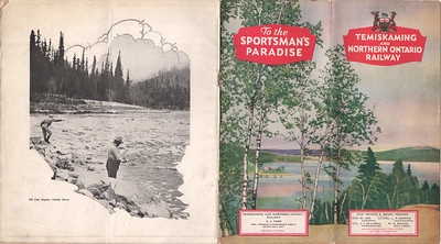Temiskaming and Northern Ontario Brochure Sportman's Paradise