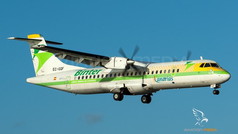 Binter Canarias / ATR 72-200 / EC-GQF