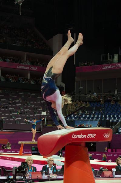 Annika Urvikko at London olympics 2012__29.07.2012_London Olympics_Photographer: Christian Valtanen_London_Olympics_Annika Urvikko at London olympics 2012_29.07.2012__ND40138_Annika Urvikko, finnish athlete, gymnastics