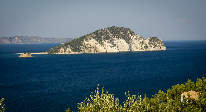 Marathonisi  (known as Turtle Island cos it looks like a turtle)
