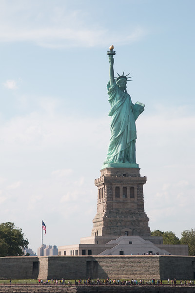 A trip to the Status of Liberty, NYC., June 22, 2017.