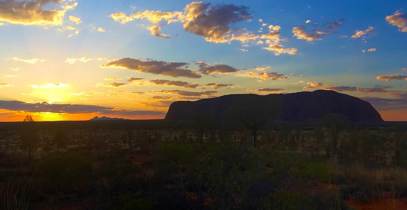Uluru (Ayers Rock) and Kata Tjuta (The Olgas)