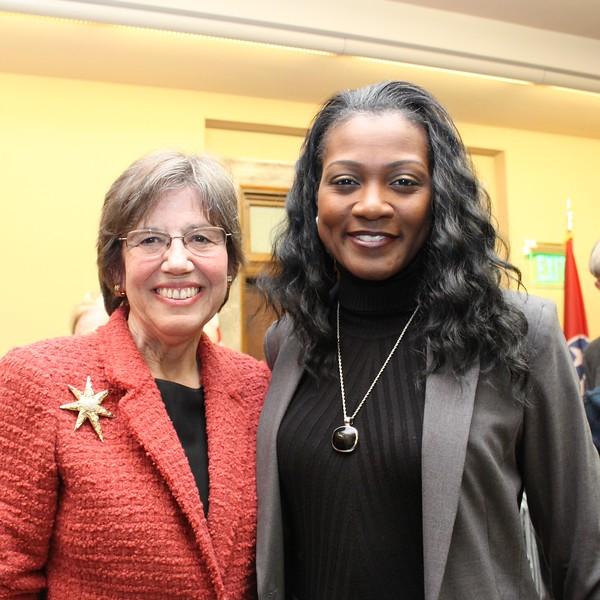 Margaret Behm, DarKenya Waller