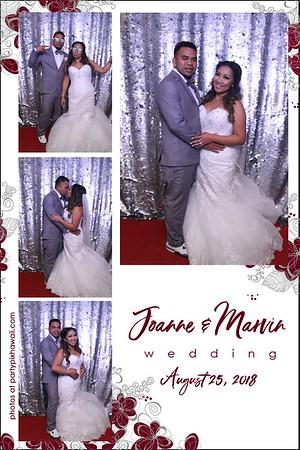 Joanne & Marvin's Wedding (Magic Mirror Photo Booth)