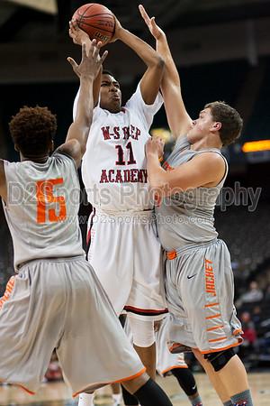 Winston Salem Prep Phoenix vs Lexington Yellow Jackets Men's Varsity Basketball 12/29/2014