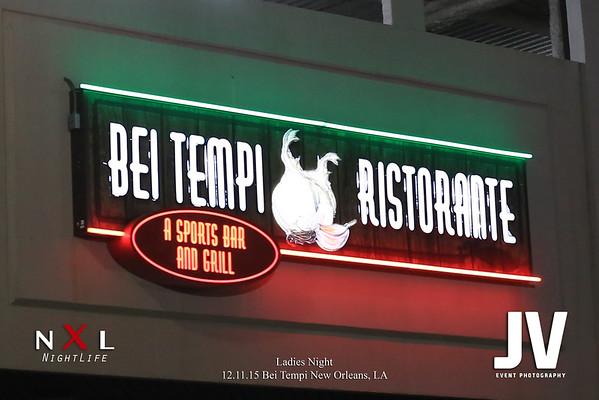 Bei Tempi - Ladies Night 12.11.15