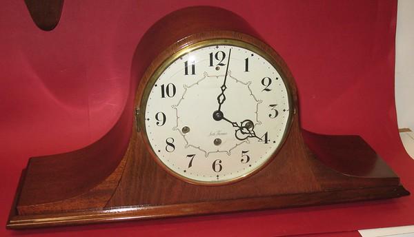 Seth Thomas Medbury Tambour Mantel Clock, 1952 – 1953