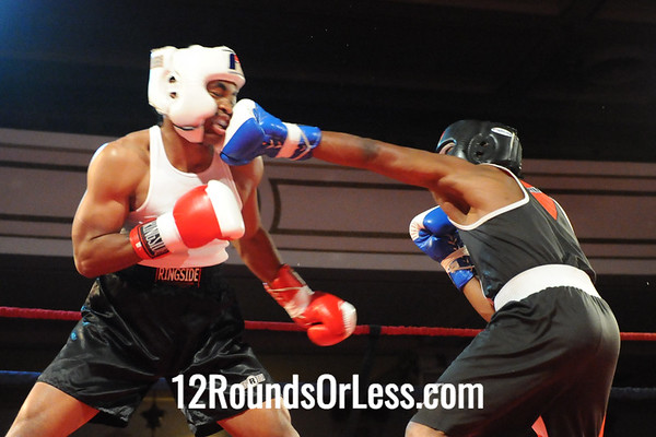 Bout #6  Chandler Clements, United/King's Gym, Berea -vs- Martinez Gregory, Raul Torres, Cleve. 141 lbs Novice