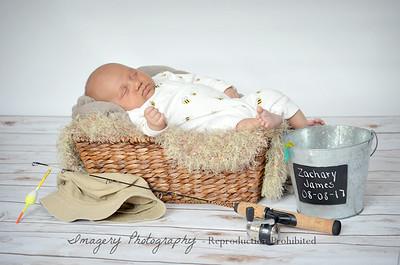 Zachary Newborn Portraits Proof Album