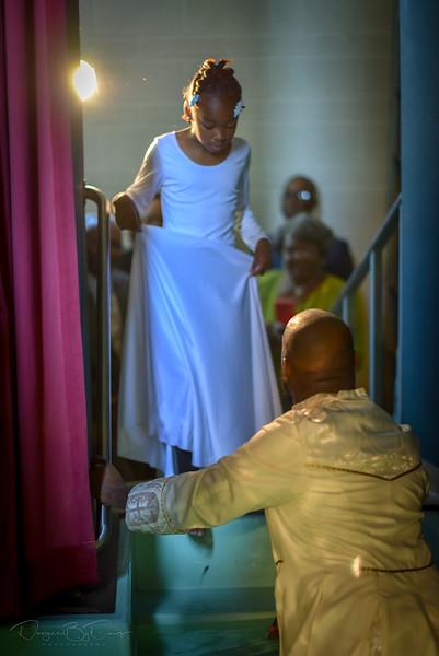 Ebonys Baptism 2018