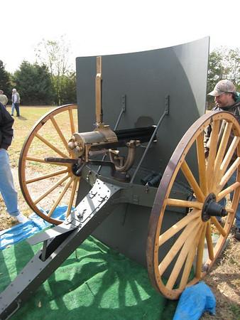 Gatling Gun Shoot - 2007-11-04
