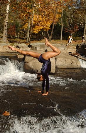 21775 Gymnastics Individuals at Valley Falls and Freshmen Team