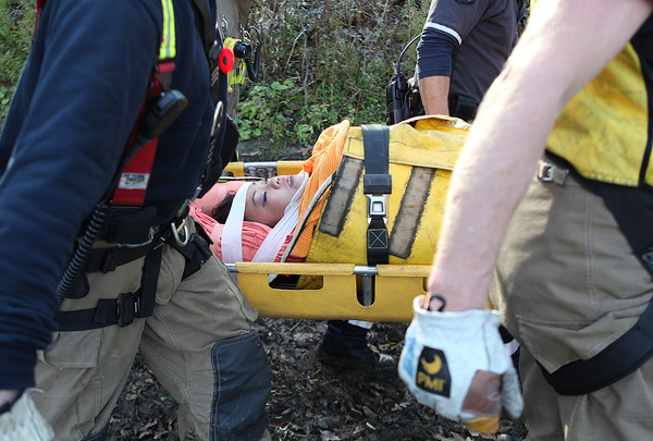 November 7, 2009 - MVC With Vehicles Over a Cliff - Stephen Drive