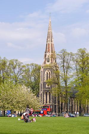 Christ Church on Turnham Green, Chiswick, W4, London, United Kingdom