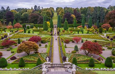 Drummond Castle Gardens: 08/10/2016