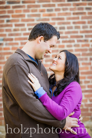 Sierra & Jared Color Engagement Photos