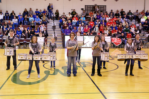 '17 Clark Drum Line - Pep Band