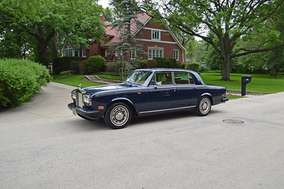 1980 Silver Shadow II in Exeter Blue