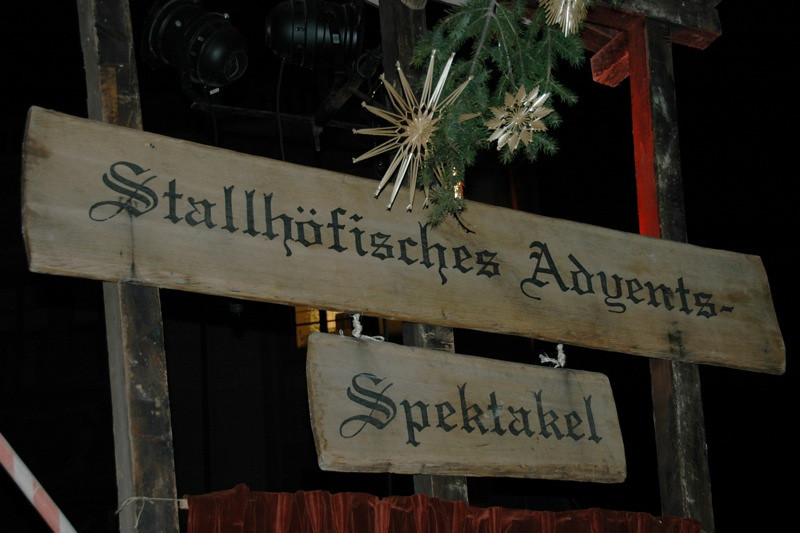 The Advent Spectacle - Dresden's Medieval Christmas Market, Germany