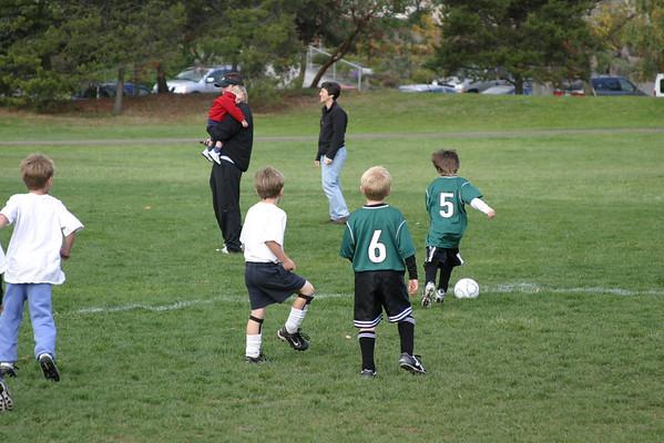 Andrew's Soccer Game - 10/25/08