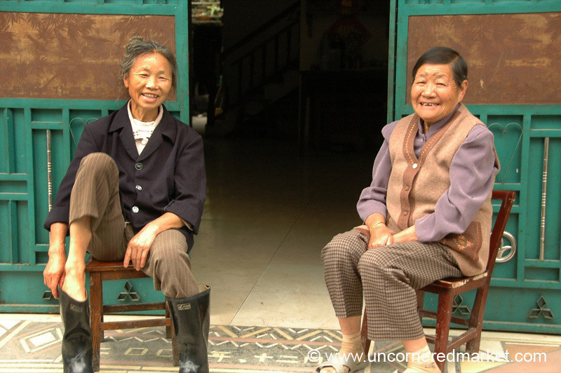 Cheerful Village Ladies - Guizhou Province, China