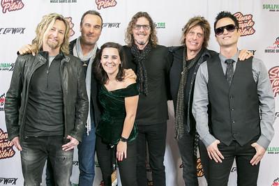 VIP Stone Temple Pilots Concert