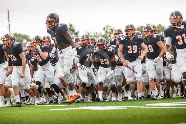 Wheaton College Football vs Elmhurst College , September 24, 2016