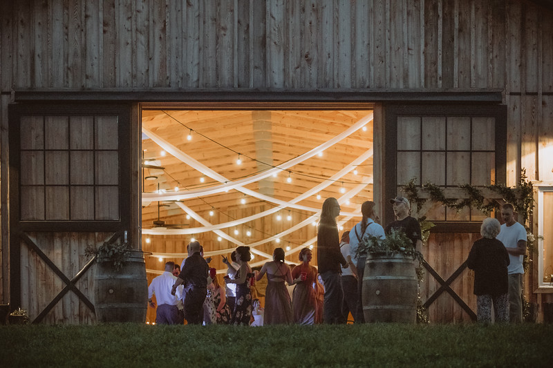 White Hollow Acres Summer Rustic Boho Barn Wedding Upstate New York 140.jpg