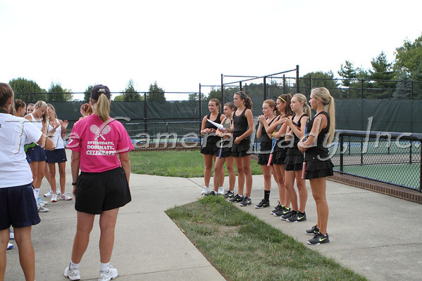 CHCA 2012 Girls Var Tennis 08.21