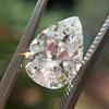 2.01ct Antique Pear Shape Diamond GIA G VS1 28