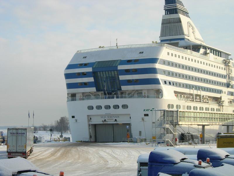 2010 - SILJA SERENADE in Helsinki.