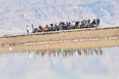 Dead Sea Vespa ride 24.11.2017