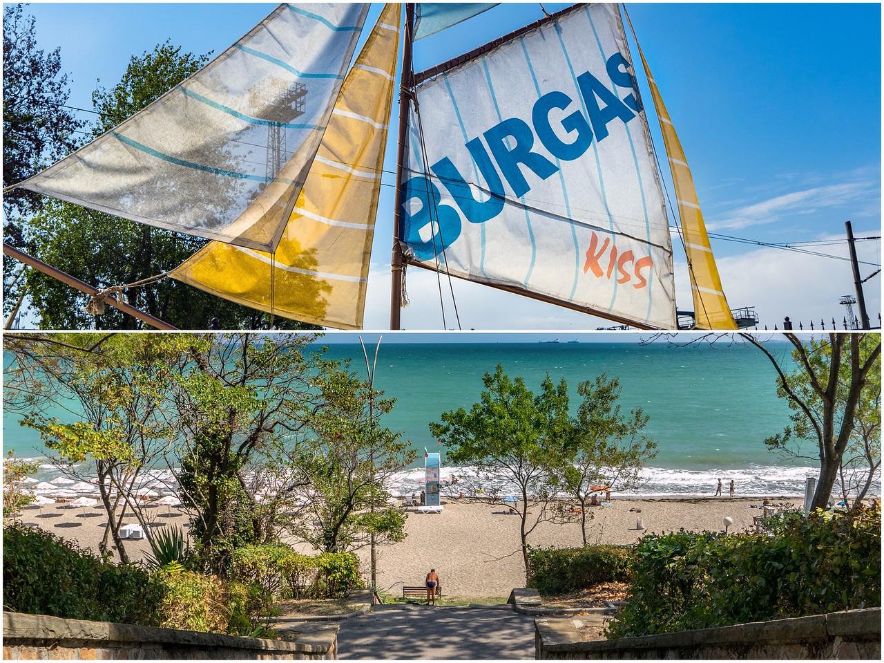 Bulgarian Beach Town Burgas