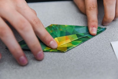 Origami Mindful Midterm Activity