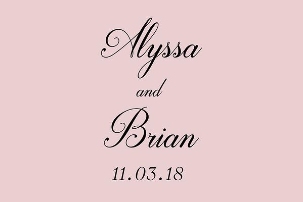 Alyssa & Brian