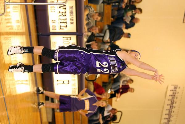 2008 IHSA GIRLS BASKETBALL SECTONALS - ROCKFORD LUTHERAN vs AURORA ROSARY