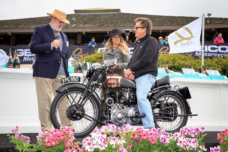 Quail Motorcycle Gathering - Award Winner - Vincent HRD Comet British.jpg