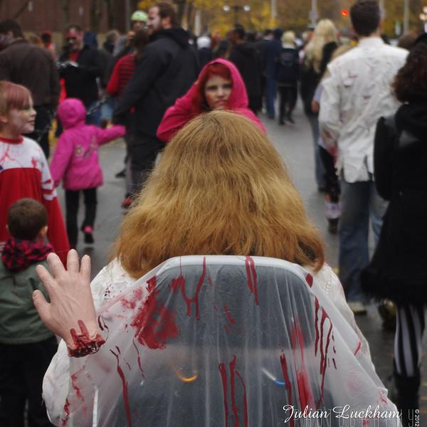 Ottawa Zombie Walk 2012