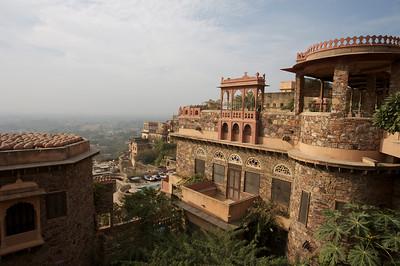 India: Neemrana Fort Palace, Rajasthan