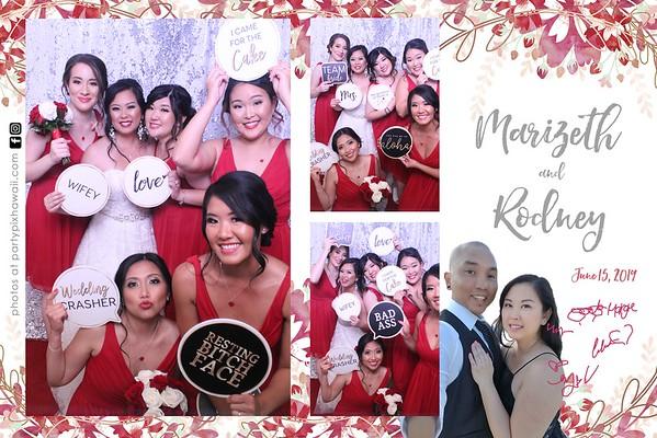 Marizeth & Rodney's Wedding (Magic Mirror Photo Booth)