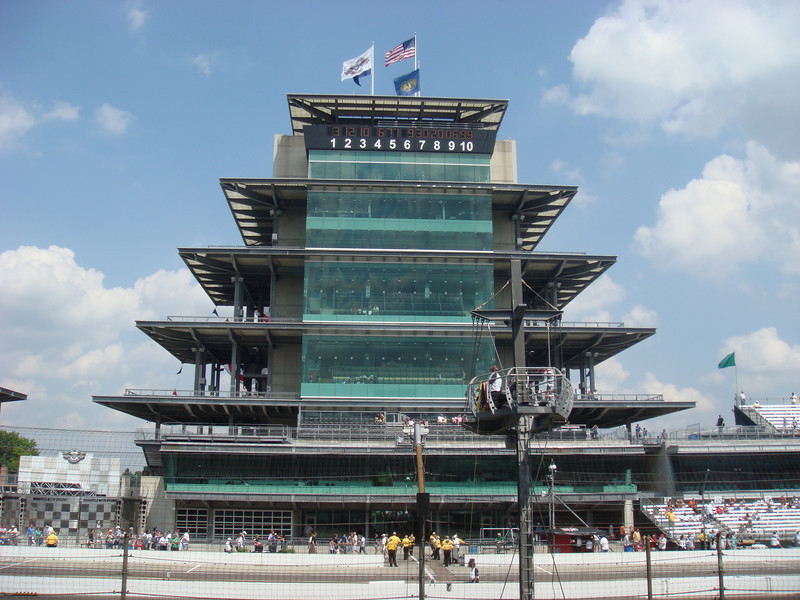 Pagoda at the Indianapolis Motor Speedway