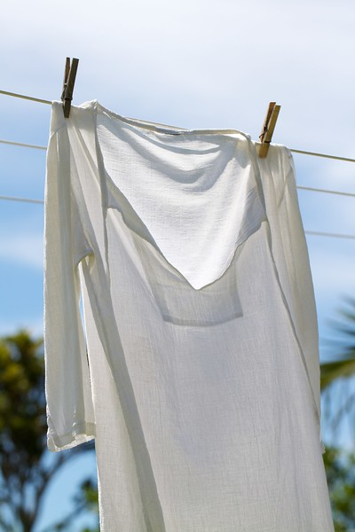 We used the clothesline