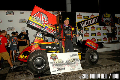Knoxville Raceway - 8.13.16 - Tommy Hein