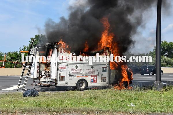 PLAINVIEW FD TRUCK FIRE 7-28-15