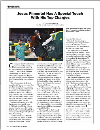 Chronicle of the Horse Aug 2015