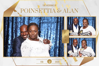 Poinsettia & Alan Wed 2/2/20